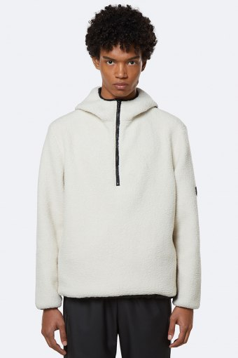 Fleece Pullover Hoodie 58 Off White