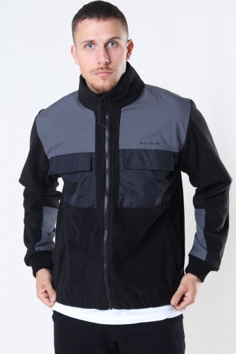 Strukt Zip Fleece Jacket Black