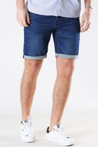 Rick Icon 011 Shorts Blue Denim