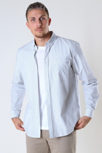 Fling stripe Shirt Light Grey