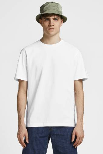 JJERELAXED TEE SS O-NECK NOOS White Relaxed