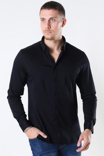 Mos Mosh Marco Jersey Shirt Black