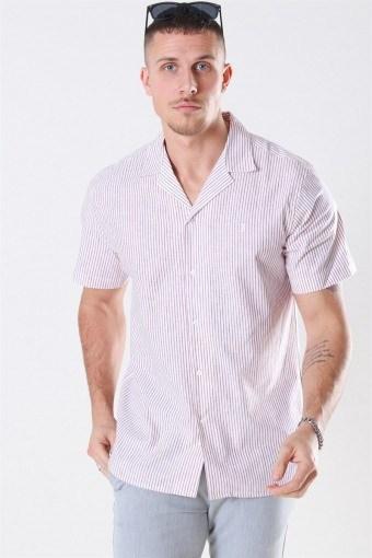 Simon Shirt Red/White