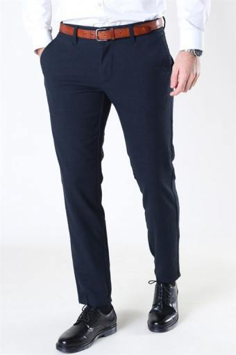 Mark Pants Check Dress Blue