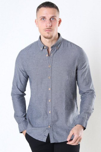Johan Diego Cotton Shirt Grey
