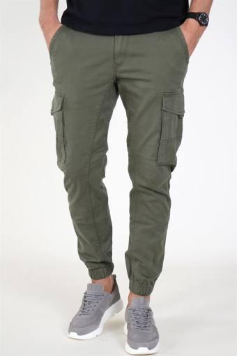 Paul Flake Cargo Pants Olive Night