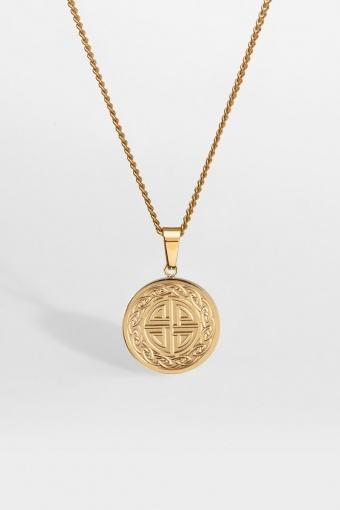 """Knot Ketting """"Gold"""""""