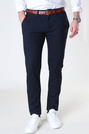 Paul KD3920 Navy Pin Chino Pant Navy Pin