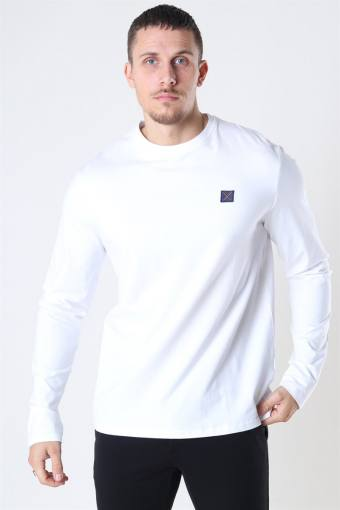 Basic Organic T-shirt LS White