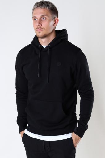 Lars Organic/Recycled hood sweat Black