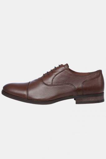 Donald Læder Shoe Cognac