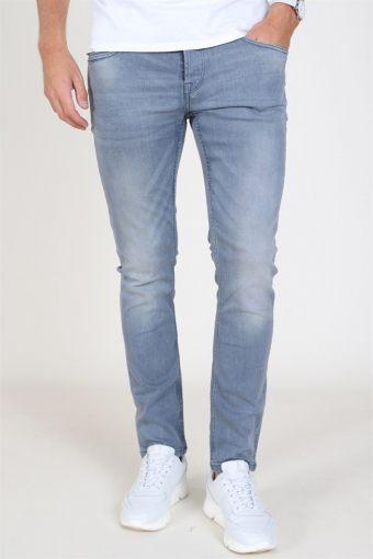 Loom Blue Grey Jeans Grey Denim