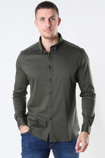 Mos Mosh Marco Jersey Shirt Army