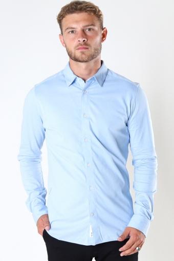 ONSMILES LS STRETCH SHIRT Cashmere Blue