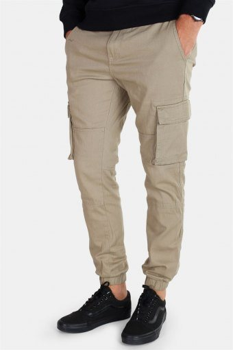 Tarp Stage Cargo Cuff Pants Lead Grey