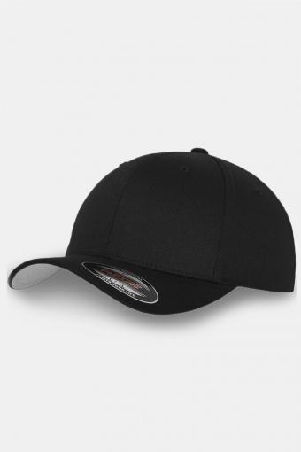Flexfit Wooly Combed Original Cap Black