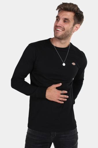 Dickes Round rock LS T-shirt Black