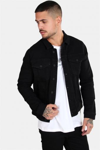 Chris Camp Slim Denim Jacket Black