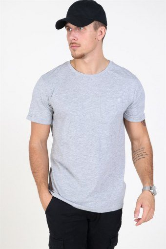Kolding T-shirt Light Grey Melange