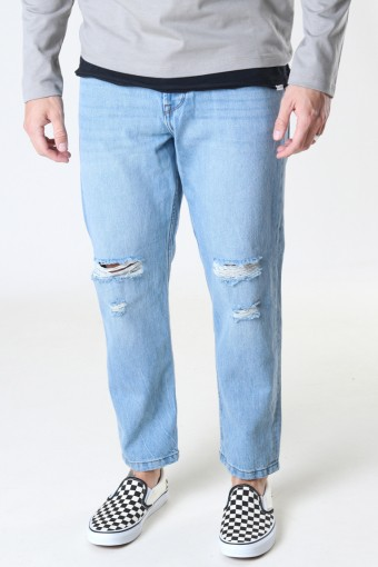 ONSAVI BEAM LIFE CROP LBLUE PK 9569 NOOS Blue Denim