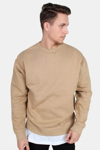 TB1590 Oversized Open Edge Crew Sweat