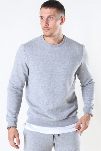 Ceres Life Crewneck Light  Grey Melange