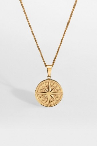 "Compass Ketting 2.0 ""Gold"""