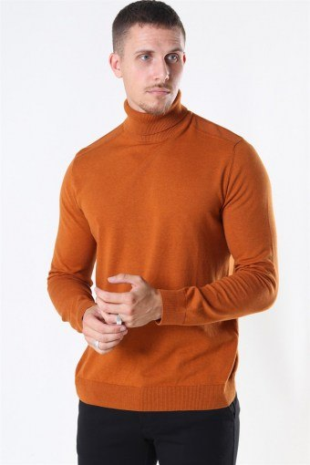 Berg Rullekrave Strik Pumpkin Spice