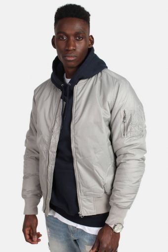 Tb861 Bomber jacket H. Grey