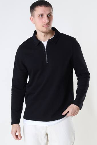ONSMAC REG HALF ZIP SWEAT Black