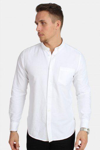 Alvaro LS Shirt White
