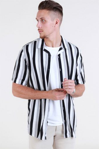 Wayne SS New Striped Shirt Griffin