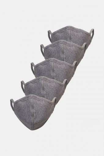 5-Pack Mundbind Oxford Grey