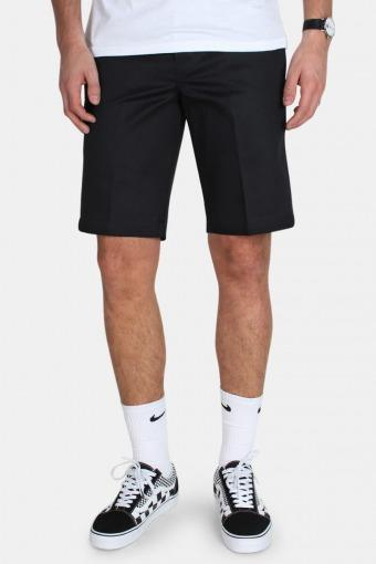 Slim Stgt Wk Shorts Black