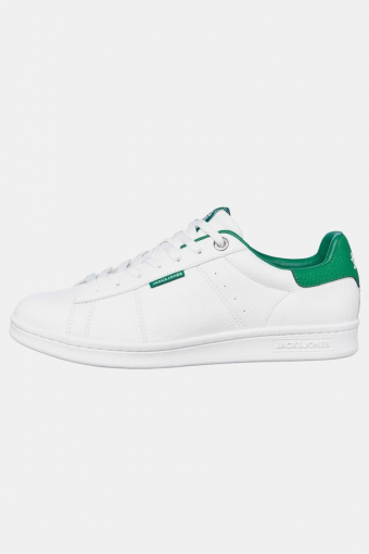 Jack & Jones Banna PU Sneakers White/Amazon