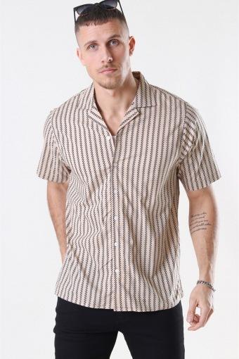 Ross Shirt S/S Sand