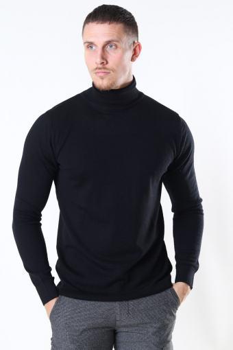 Clean Cut Merino Wool Roll Strik Black