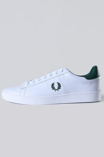 Spencer Leather Sneakers White