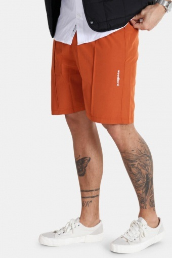 Hansi Track Shorts Hotsauce Orange