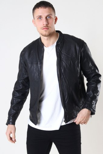 Bailey One Leather Jacket Black