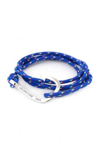 Hook Armbånd Blue/Red/White/Green/Silver