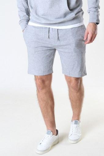 Basic Organic Shorts Light Grey Mel
