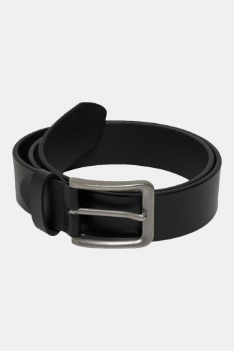 Charlton Leather Belt Black