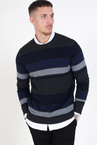 Fast Stripe Knit Maritime Blue