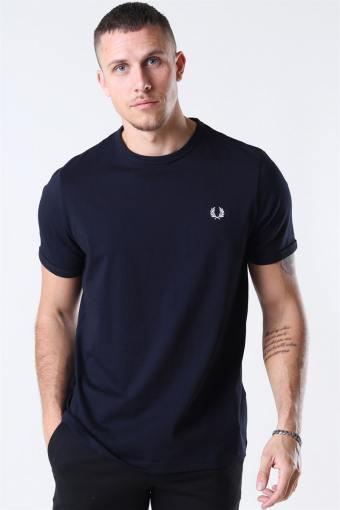 Ringer T-shirt Navy