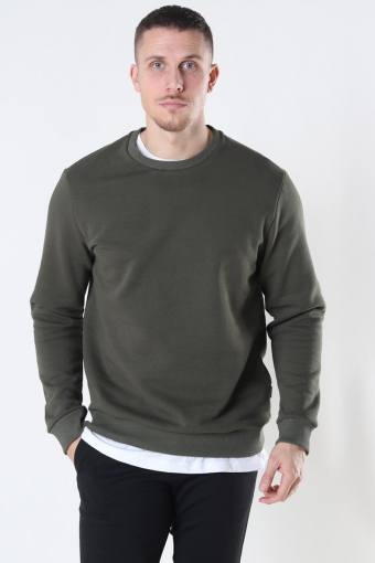 Ceres Life Crewneck Olive Night