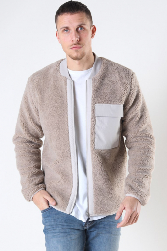 Caps Jacket Light Grey