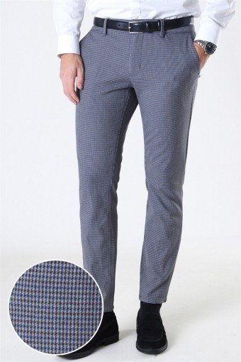 Mark Pants Check DT 7046 Medium Grey Melange