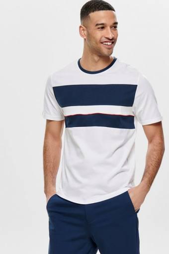 Lemar SS T-shirt Bright White