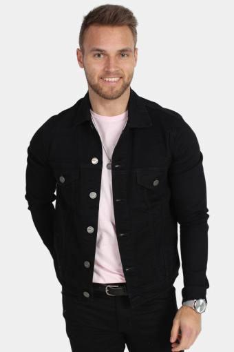 Dave Stay Black Denim Jacket